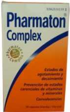 Pharmaton Complex Medicamentos