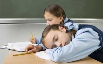 Dormir mal afecta el rendimiento escolar Pediatría