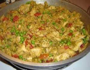 Arroz con pollo Recetas Saludables