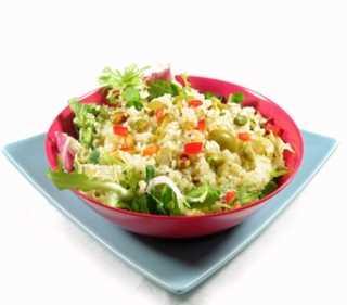 Ensalada de arroz a la italiana Recetas Saludables