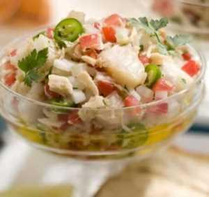 Ensalada de pescado Recetas Saludables