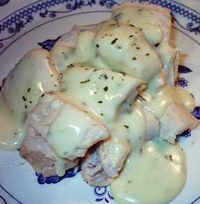 Ensalada de pollo a la crema Recetas Saludables