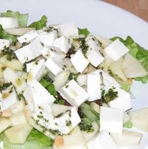 Ensalada de quesos Recetas Saludables