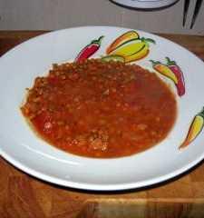 Lentejas con tomate Recetas Saludables