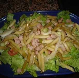 Macarrones en ensalada sencilla Recetas Saludables