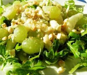 Coliflor con uvas y pera Recetas Saludables