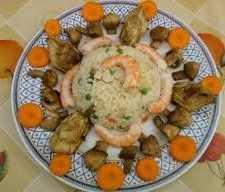 Ensalada de arroz, guisantes y zanahorias Recetas Saludables