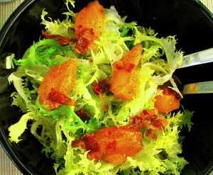 Ensalada de escarola al bacon Recetas Saludables