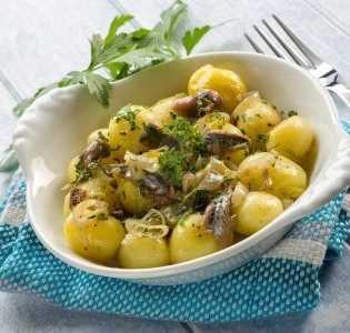 Ensalada de patata y cebolleta Recetas Saludables