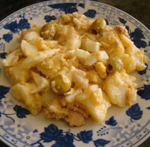 Ensalada de patatas al estilo de Murcia Recetas Saludables