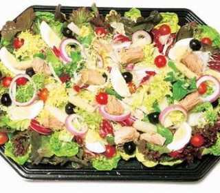 Ensalada de patatas y cangrejo Recetas Saludables