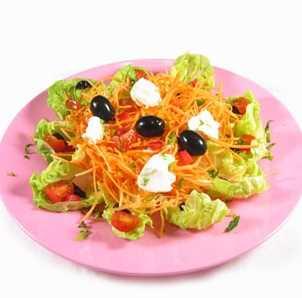Ensalada de zanahorias y huevos duros Recetas Saludables