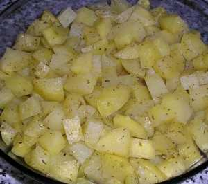 Patatas al vino blanco Recetas Saludables