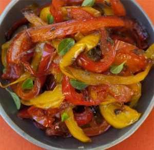 Pimientos al aceite de oliva Recetas Saludables