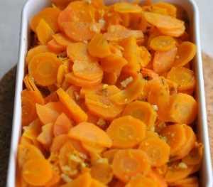 Zanahorias a la naranja Recetas Saludables