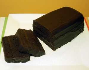 Budin de chocolate Recetas Saludables