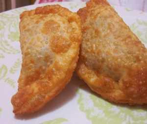 Empanaditas fritas de queso Recetas Saludables
