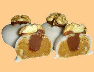 Nueces confitadas Recetas Saludables