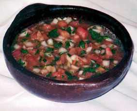 Pebre con tomate Recetas Saludables