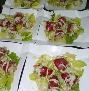 Surtido vegetariana a la marinera Recetas Saludables