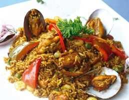 Choritos con arroz Recetas Saludables