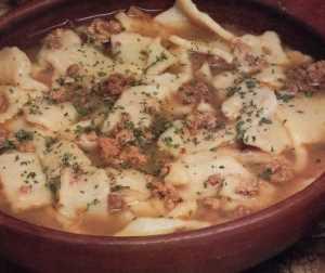 Sopa de Pantrucas Recetas Saludables